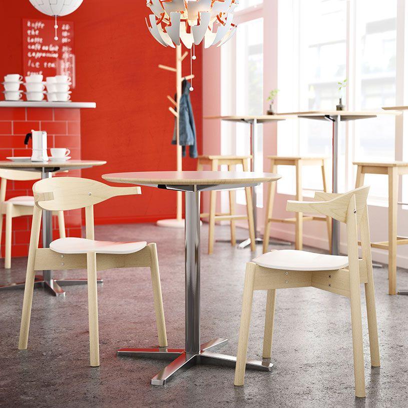 Mesas redondas para cafeterias | cocina | Pinterest | Mesa redonda ...