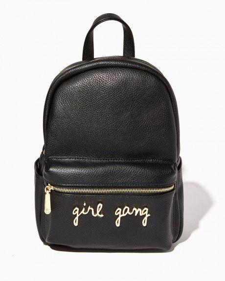 c03e2707a Girl Gang Pebbled Backpack
