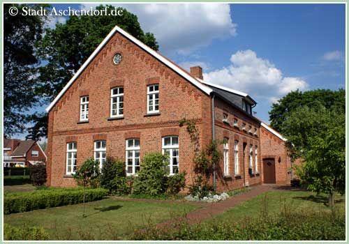 Gulfhaus, Heimathaus Aschendorf #dekoeingangsbereichaussen