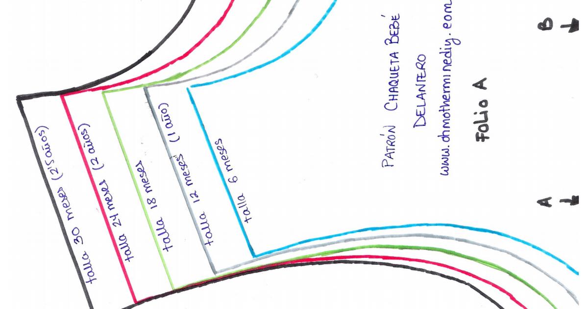 patron abrigo bebe.pdf | patrones | Pinterest | Bebe, Ropa bebe y ...