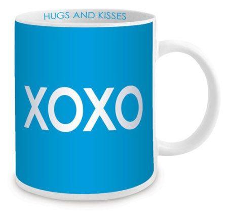XOXO Mug #presentsformen #valentinesdaygifts #giftsformen