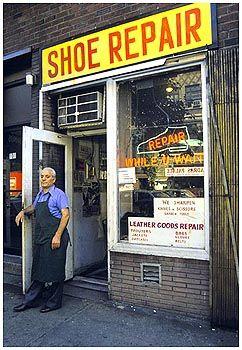 SHOPS SHOE REPAIR | Shoe repair, Shoe