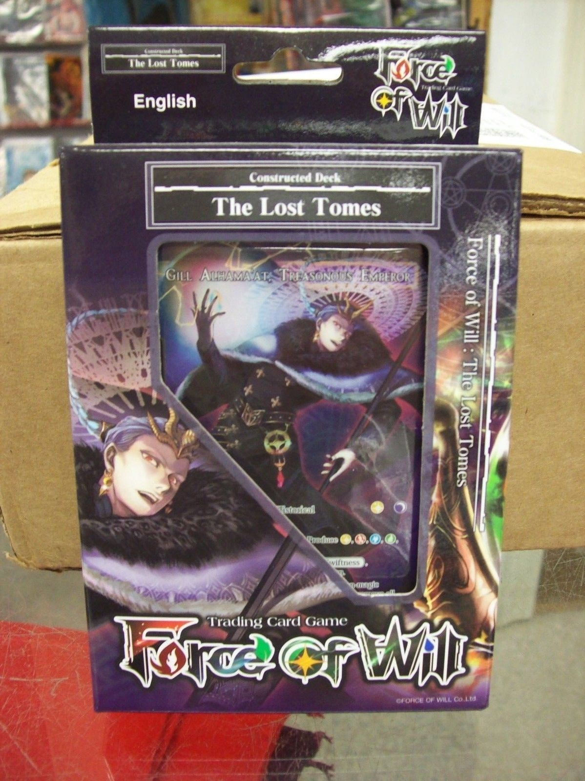 Other CCG Items 2535: Force Of Will Tcg The Lost Tomes Constructed ...