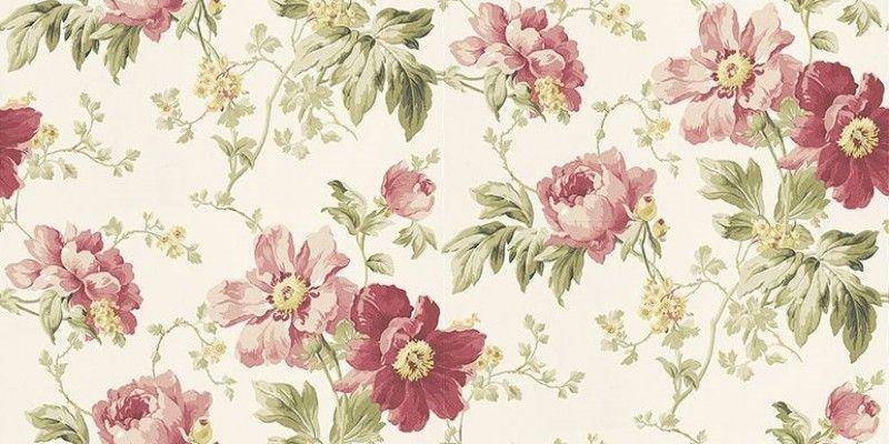 Peony Garden Cranberry 3568944