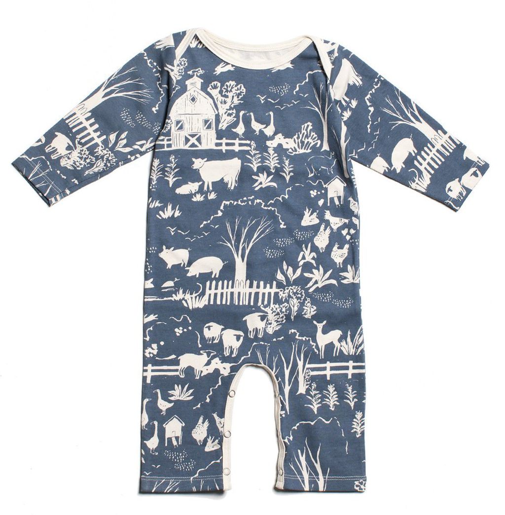 Farm Romper Products Pinterest Organic Baby Baby And Organic