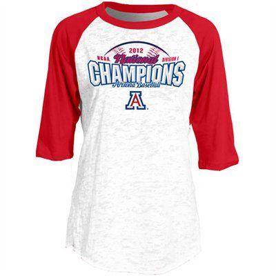 Womens Arizona Wildcats College World Series Burnout Three