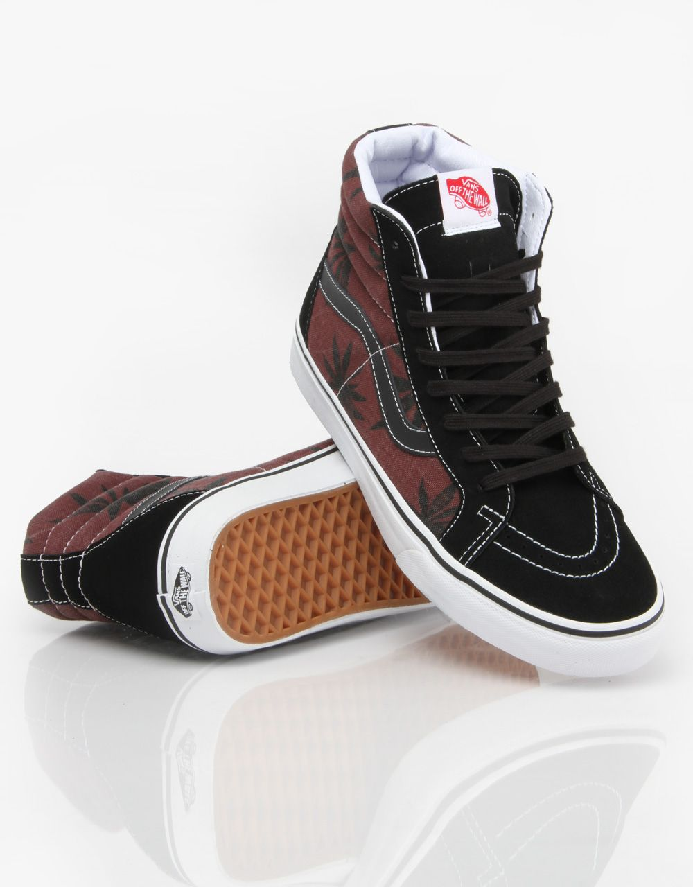 de9d33538345 Vans Sk8-Hi Reissue Van Doren Skate Shoes - Palm Port Royale -  RouteOne.co.uk