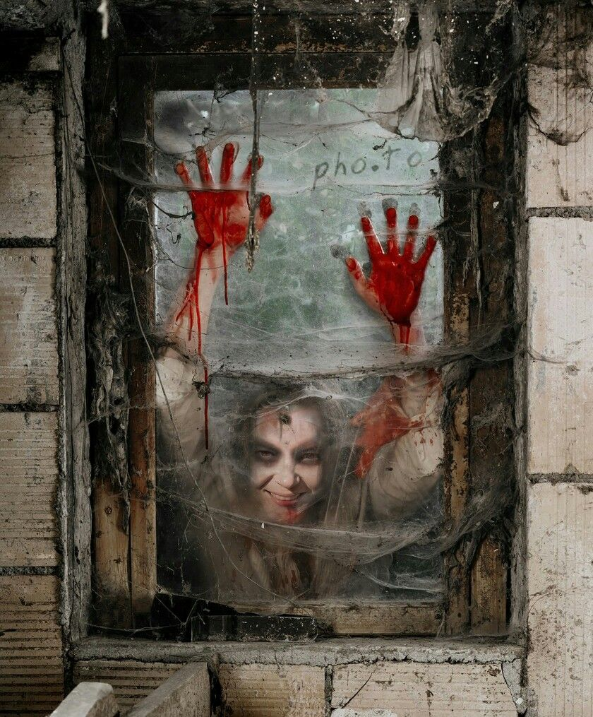 Perfect Decoration For The Office Home Or Even Bashes This Transforms Windows Into Scary Scenes X Very Easy