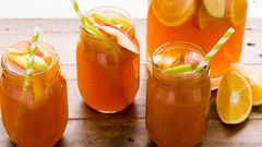 Tailgate All Fall With Apple Cider Sangria