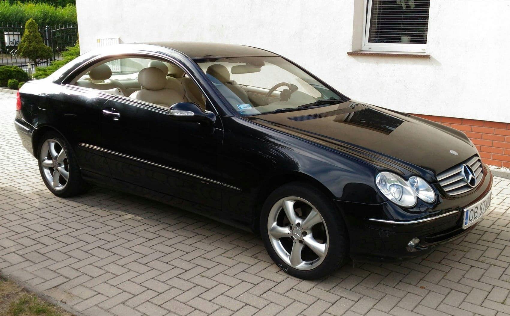 Mercedes Clk 8845249883 Oficjalne Archiwum Allegro