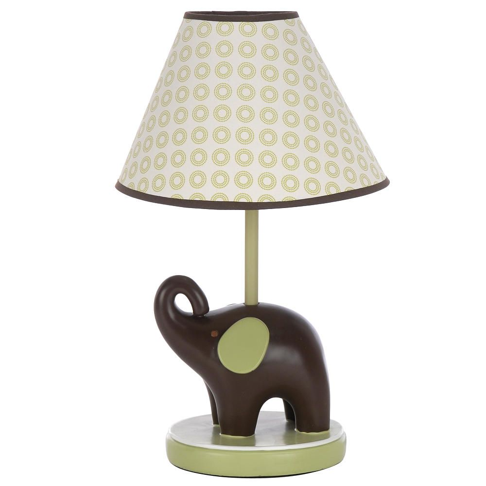 Carter's Green Elephant Lamp Base & Shade - Carters ...