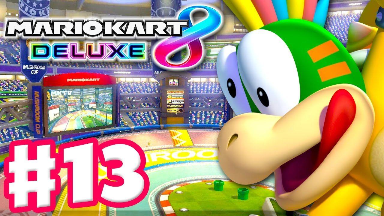 Lemmy Mushroom Cup Online Vs Races Mario Kart 8 Deluxe