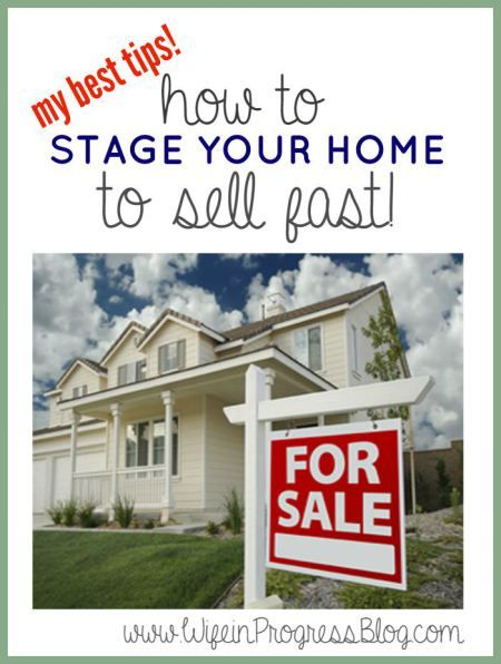 how to stage a home to sell quickly