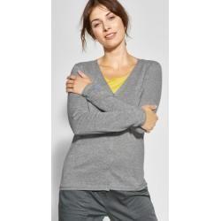 Photo of Cecil – Cardigan Leonie in Mineral Gray Melange Cecilcecil #knit easy …  – Str…