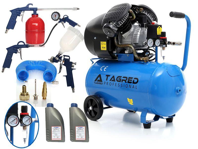 Kompresor Sprezarka Tagred 100l 2t 8w1 Separator 6023550660 Allegro Pl Wiecej Niz Aukcje Separators