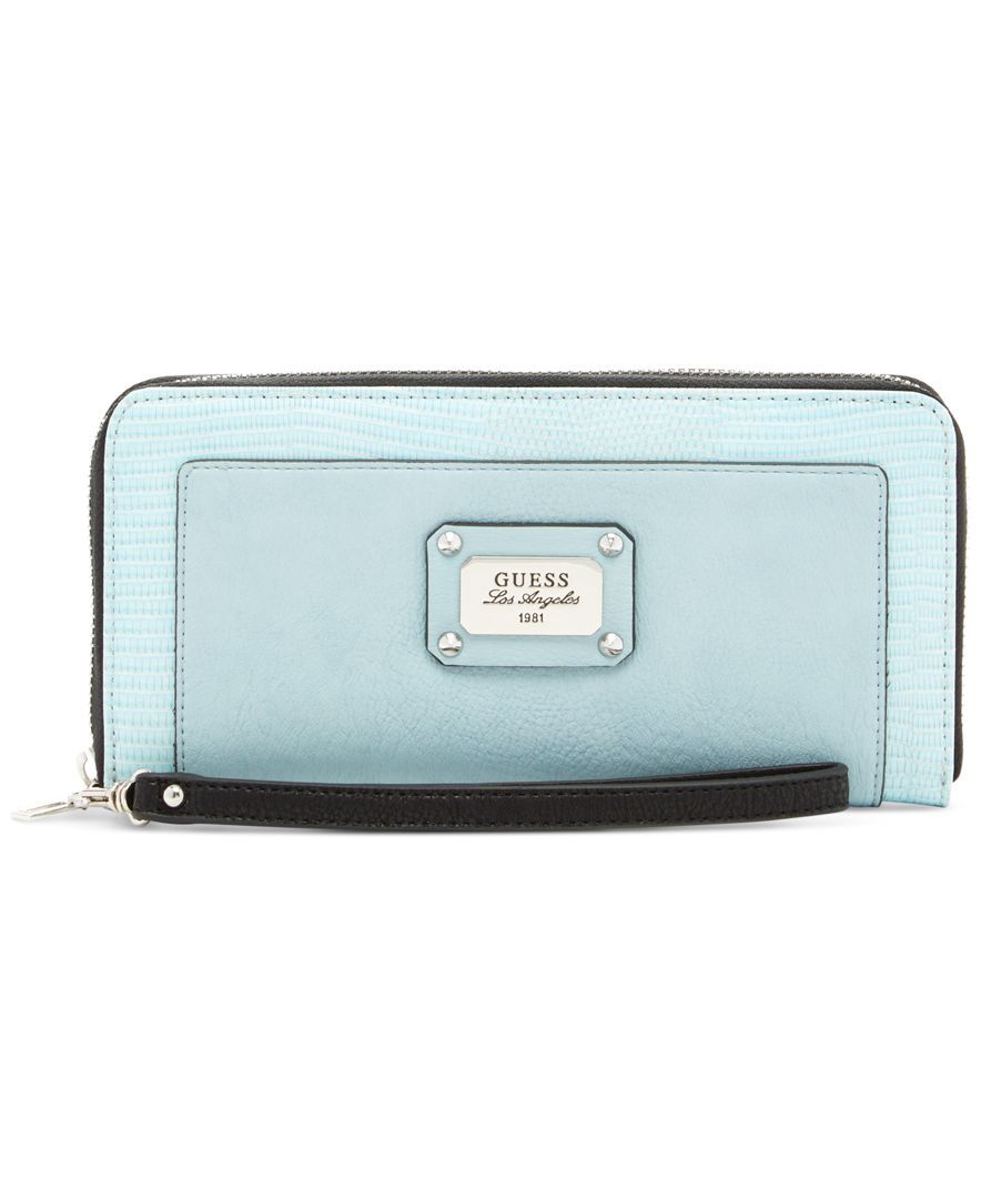 Guess Escapade Large Zip Around Wallet