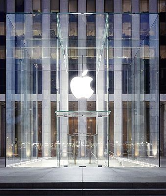 Pin By Gertchen Wagner On Material Clear Glass Apple Store Glass Cube Architecture