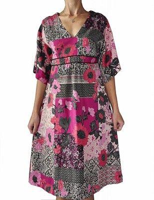 Monsoon Rewelaacyjna Sukienka Kwiatki 36 6571015836 Oficjalne Archiwum Allegro Casual Dress Dresses With Sleeves Dresses