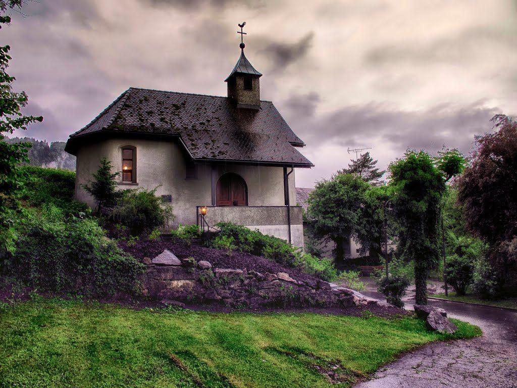 Ein Haus in Altach, Österreich.