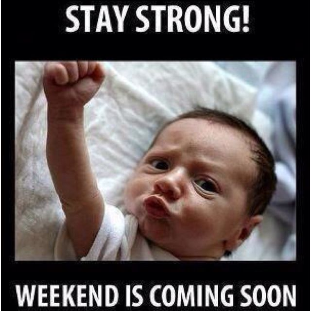 Fist Pump For The Weekend Haha Funny Babies Funny Pictures Funny Photos