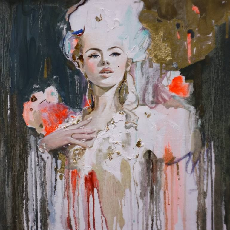 "Saatchi Art Artist Anastasia Balabina; Painting, ""Renaissance Hand painted Oil painting On Canvas by artist Balabina"" #art"