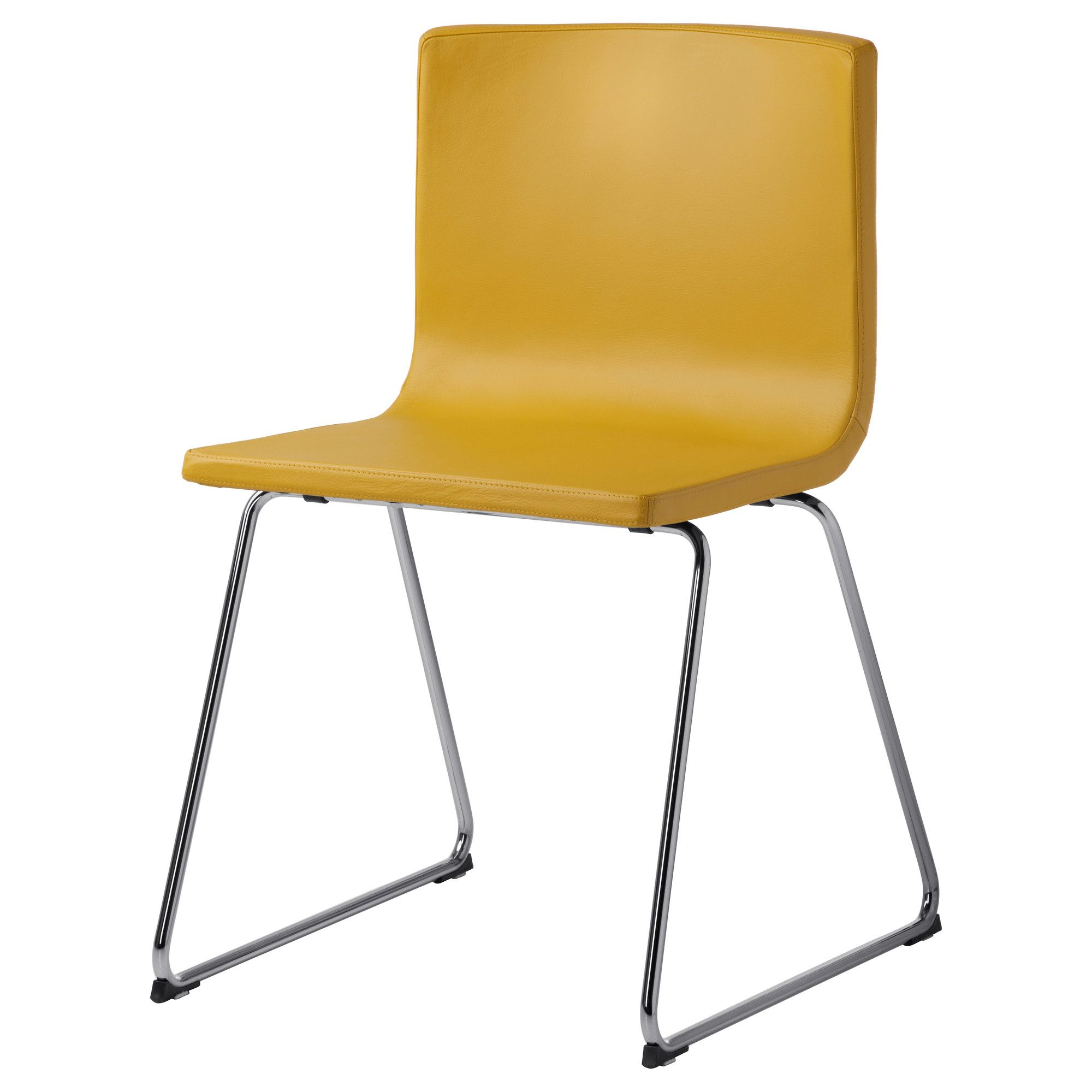 Ikea Yellow Chair Bernhard Chair In Dark Yellow (if You Want To Add Some