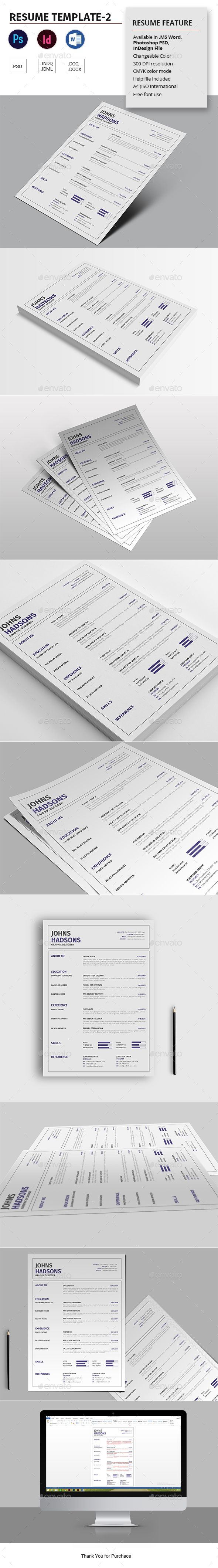 What Font To Use On Resume Resume Template2  Template Font Logo And Typography Design