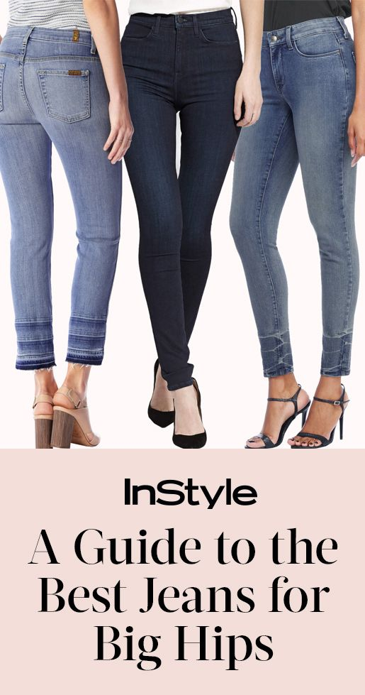 aca53caab4627 A Guide to the Best Jeans for Women with Wide Hips | from InStyle.com