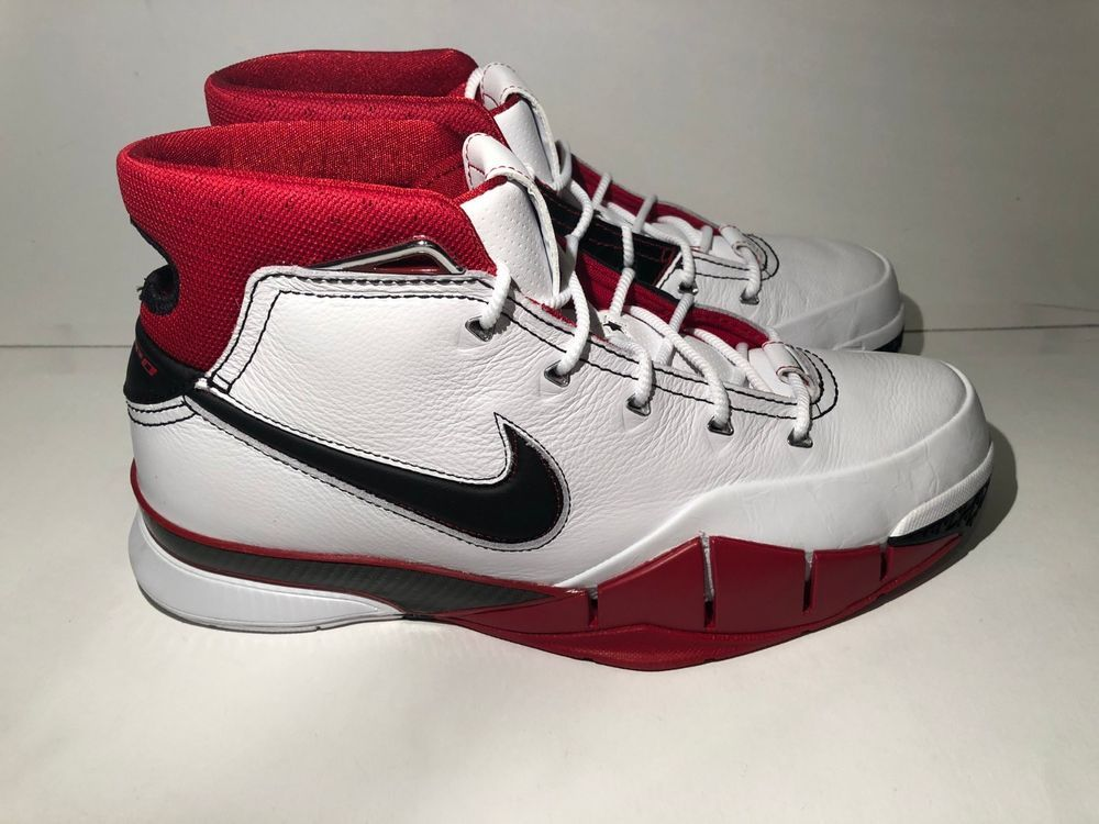 brand new ee739 10880 Nike Kobe 1 Protro All Star Game ASG White Black Varsity Red size 11 AQ2728  102  fashion  clothing  shoes  accessories  mensshoes  athleticshoes (ebay  link)