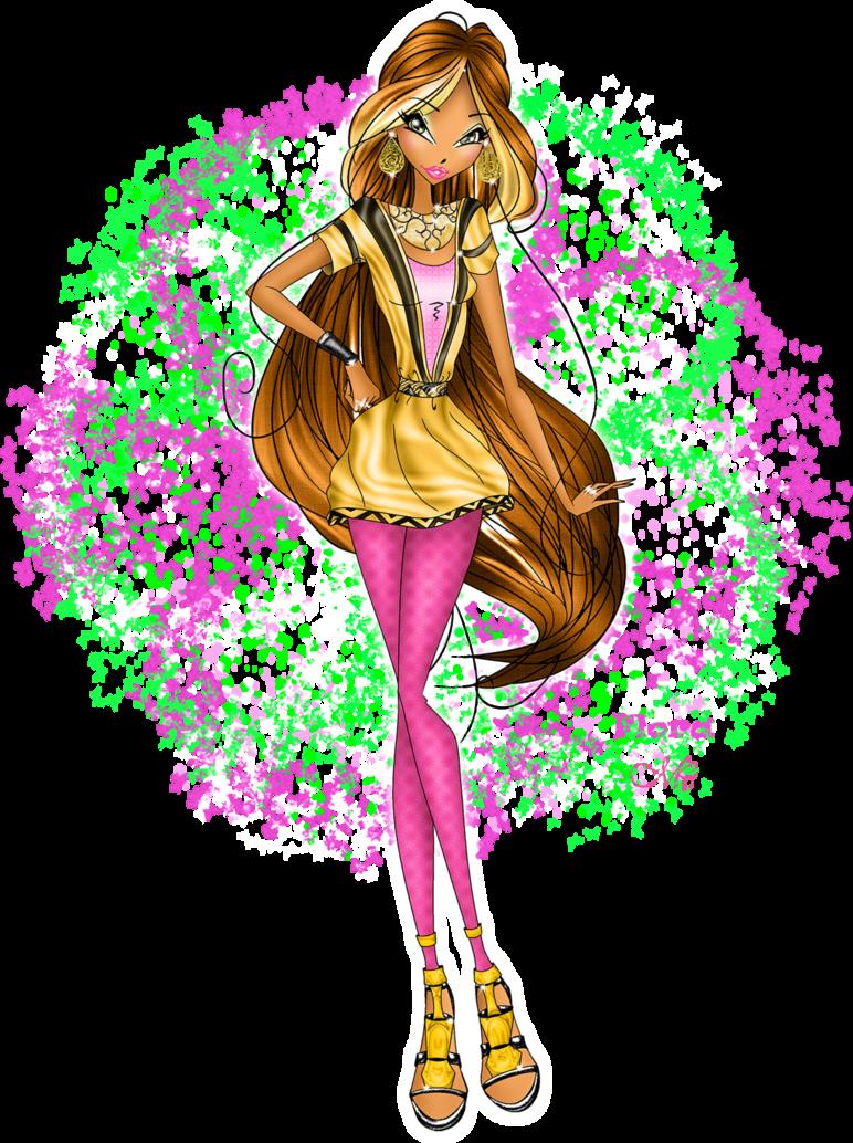 Flora Arrow Outfit Season 7 Winx Club Flora Winx Anime Kingdom