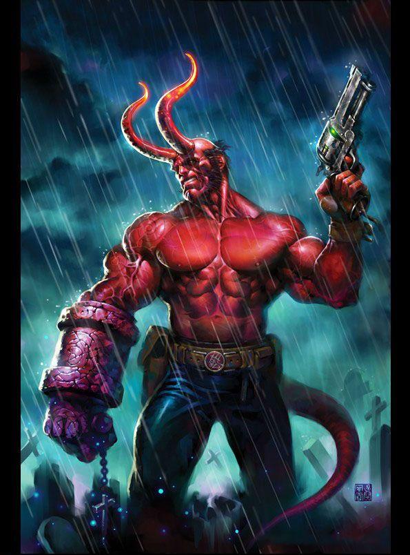 13838805635573.jpg (595×804) | Hellboy | Pinterest