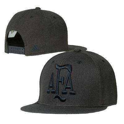new style 6a347 7b2aa Argentina National Football Team Adidas Flatbrim Snapback Hat (Black)