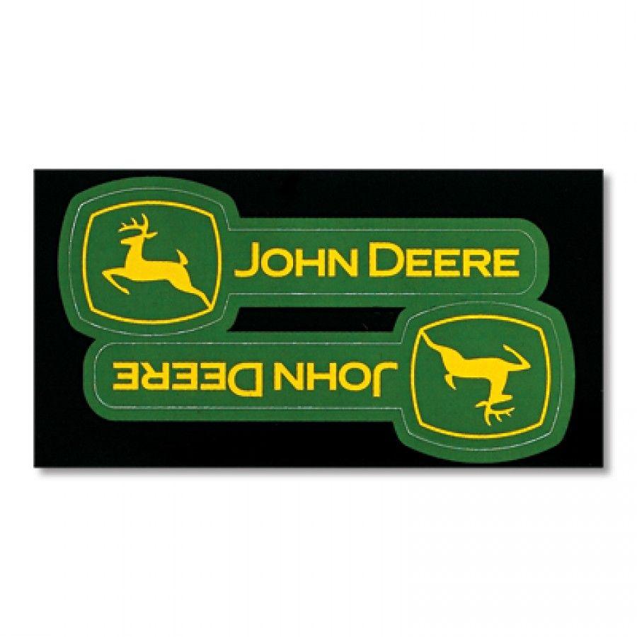 John Deere Horizontal Logo Decal | RunGreen.com Part 18