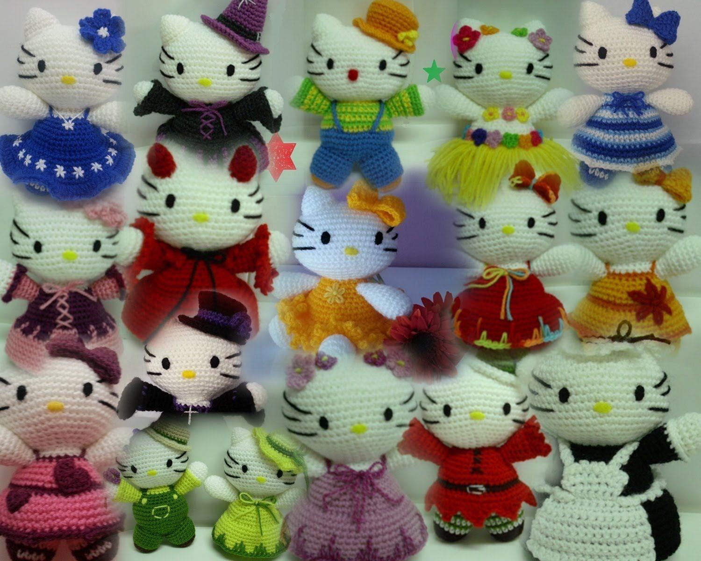 Crochet Hello Kitty free pattern amigurumi   Amigurumi Space   1200x1500