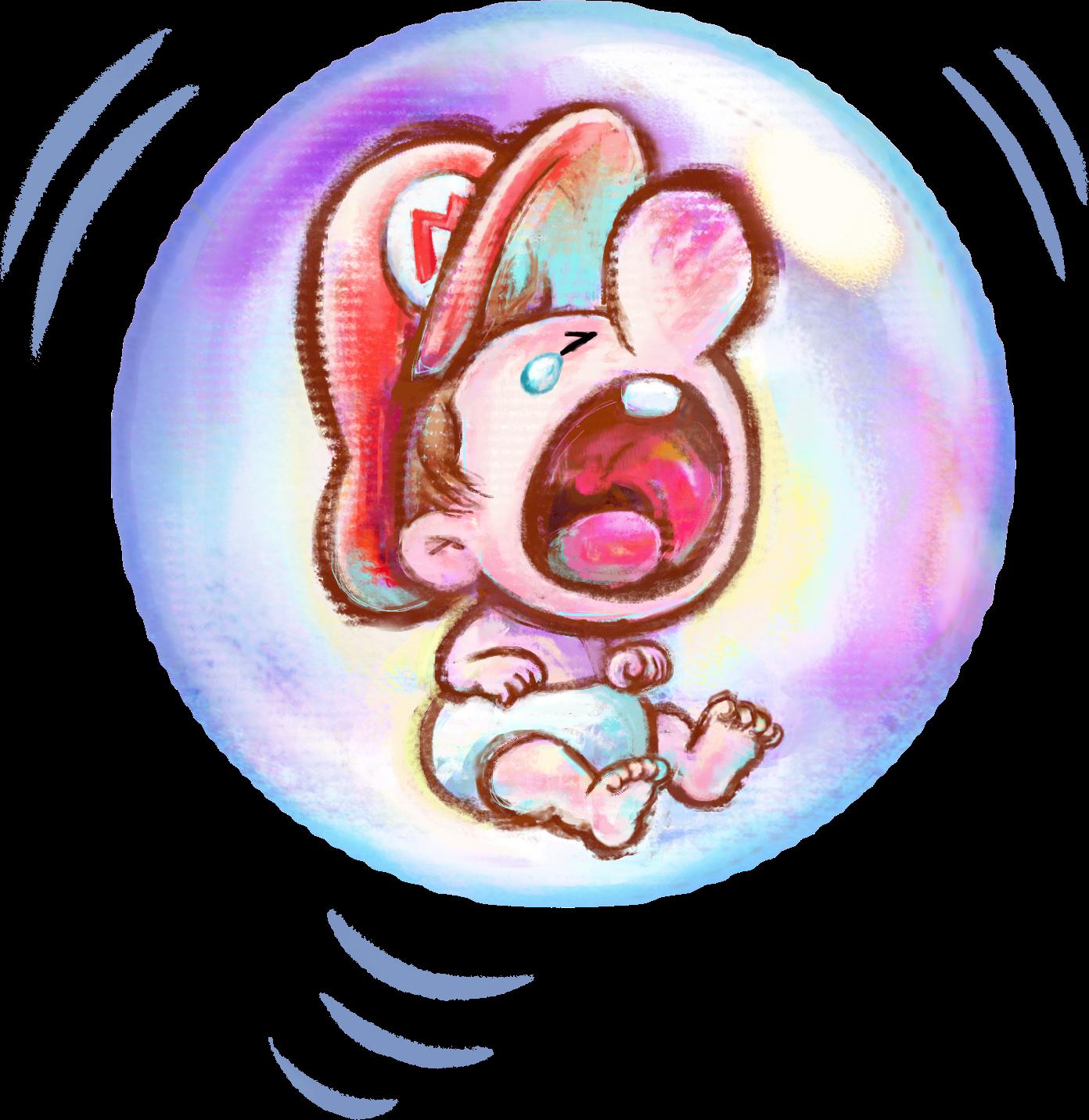 baby mario crying super mario bros mario super