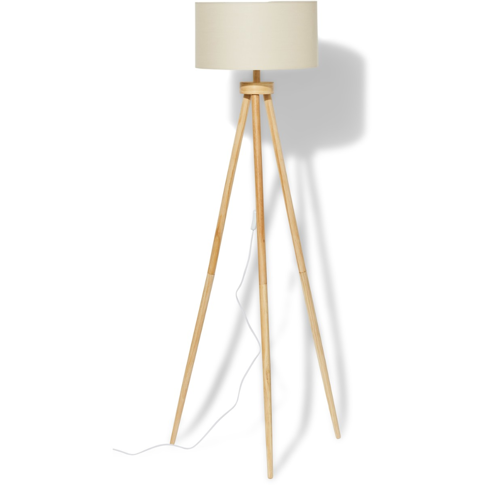 Mirabella Kelly Tripod Floor Lamp Big W In 2020 Tripod Floor Lamps Tripod Floor Beige Lamps