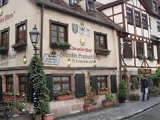 Corner Restaurant In Nuremberg Germany River Cruises In Europe Christmas In Germany