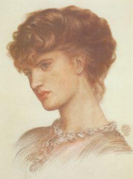 Aflaia Coronio, nee Ionides- D G Rossetti
