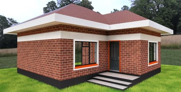 Pin On 2 Bedroom House Design