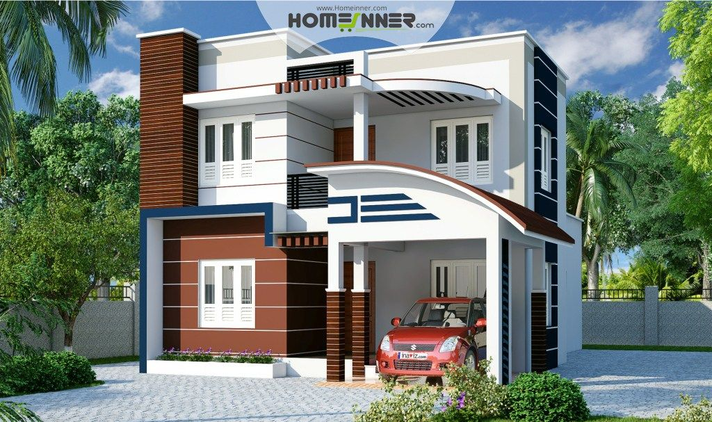 Amazing House · Contemporary Home Designs Flat Roof Home Plan ...