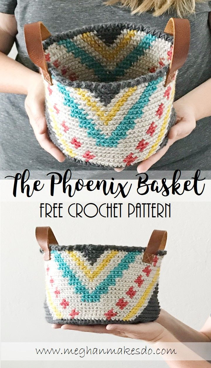 Jul 5 The Phoenix Basket-Free Crochet Pattern