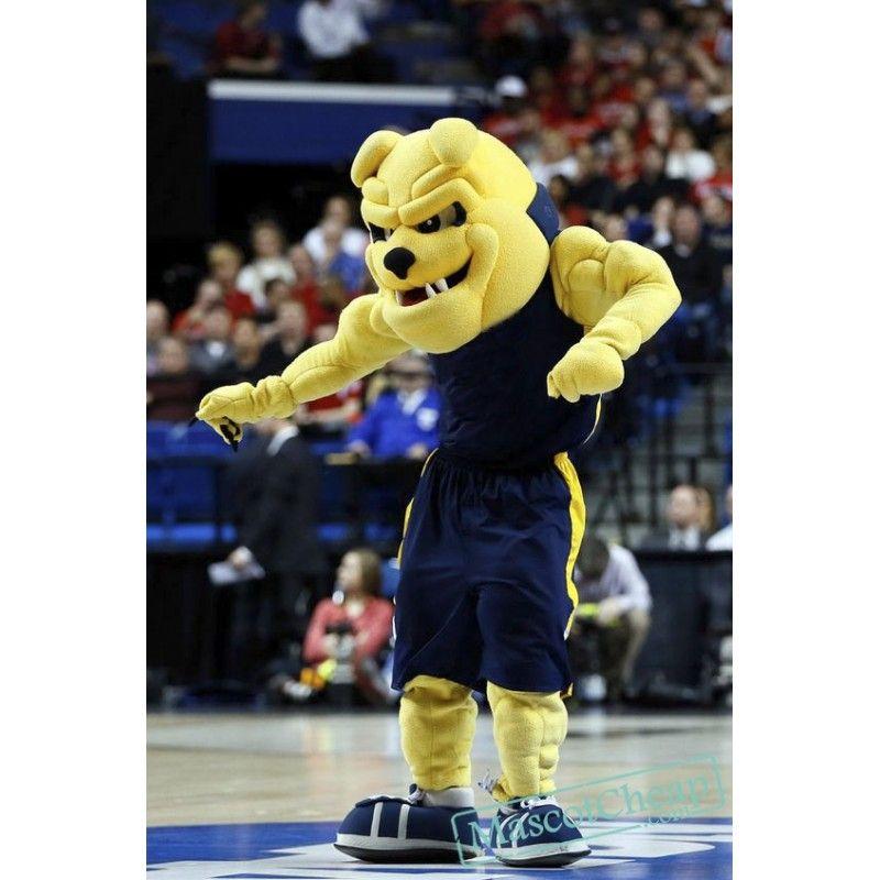 High Quality University Bulldog Mascot Costume Bulldog