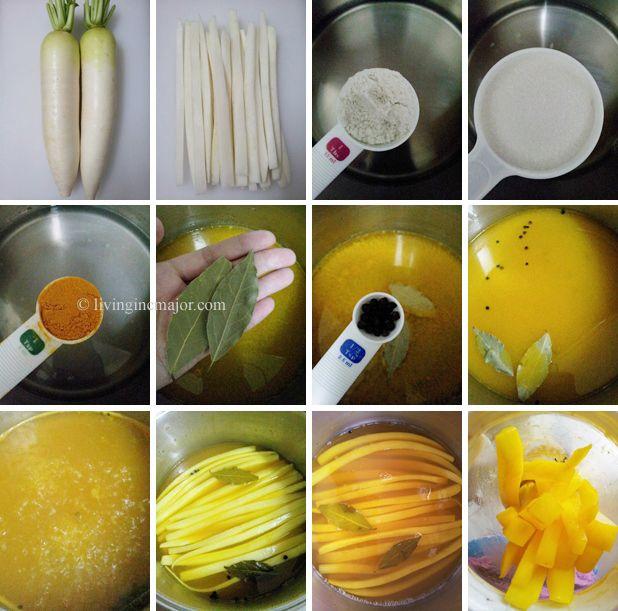 How To Make Korean Sweet Radish Pickle Danmuji Korean Dishes Korean Food Korean Cooking