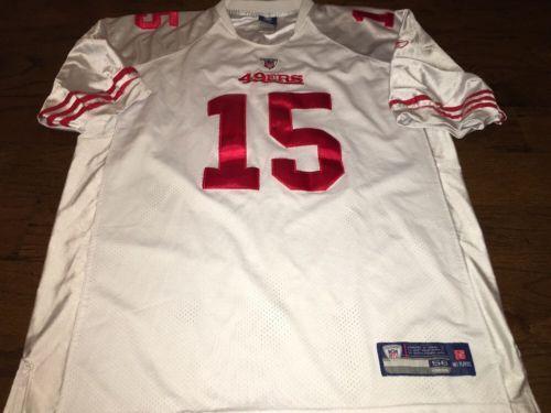 Reebok San Francisco 49ers Crabtree 15 NFL Stitched Sewn White ...