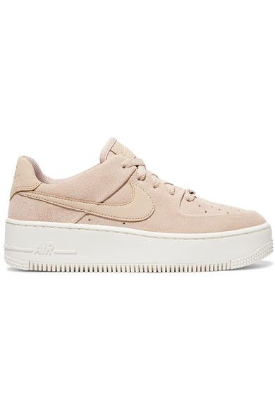 meilleure sélection 2e540 a0df6 Nike - Nike Air Force 1 suede sneakers | Fav shoes in 2019 ...