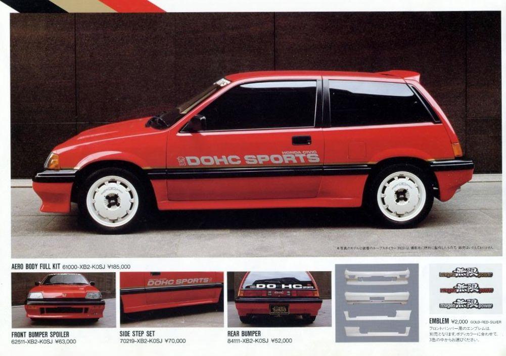 Honda Civic Mk3 Mugen-
