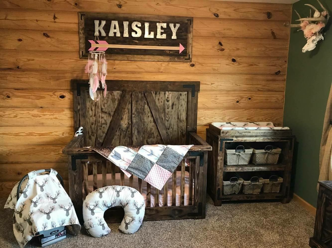 Pin By Cassie Young On Future Baby Country Nurseries Stuff Girl Nursery Room