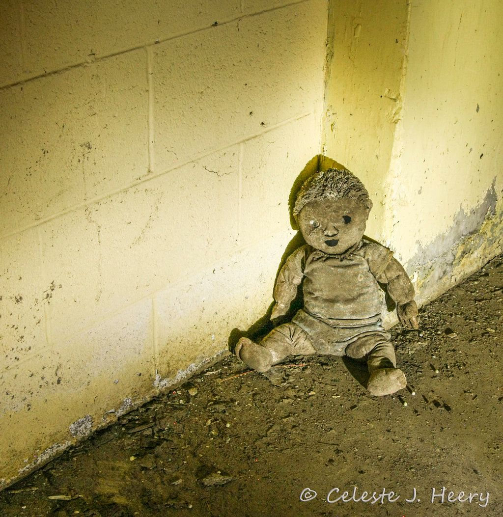 Abandoned Mental Asylum, Creepy Doll By Cjheery On