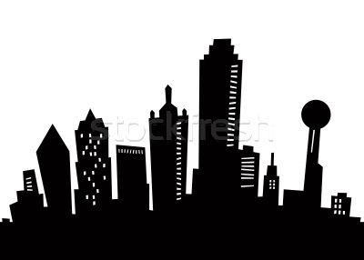 Dallas Skyline Dallas Skyline Dallas Texas Skyline Skyline Silhouette