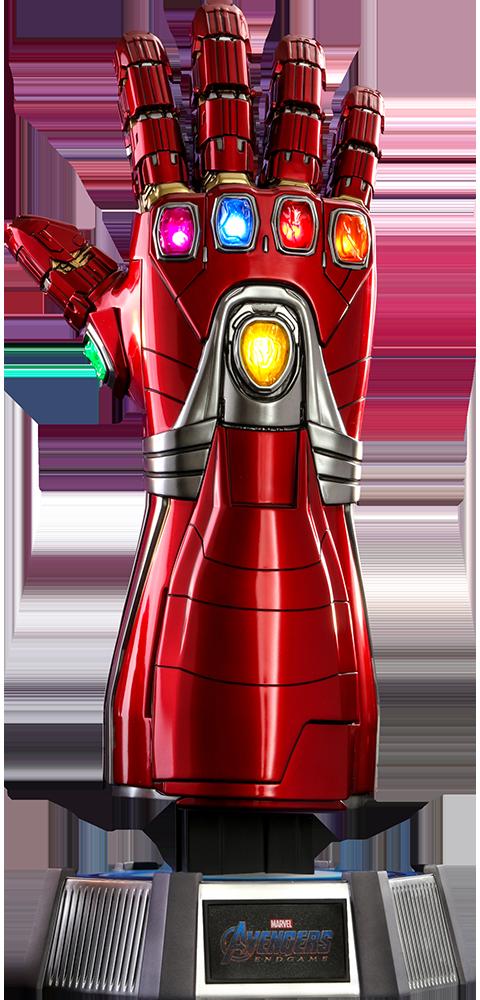 Hot Toys Nano Gauntlet Life Size Replica Hot Toys Iron Man Marvel Collectibles Iron Man